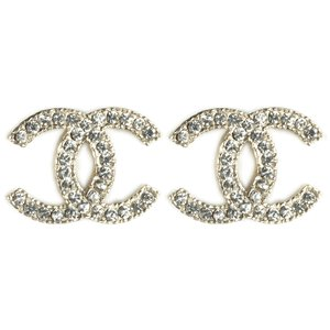 CHANEL CC Diamond Earrings Discount 5C